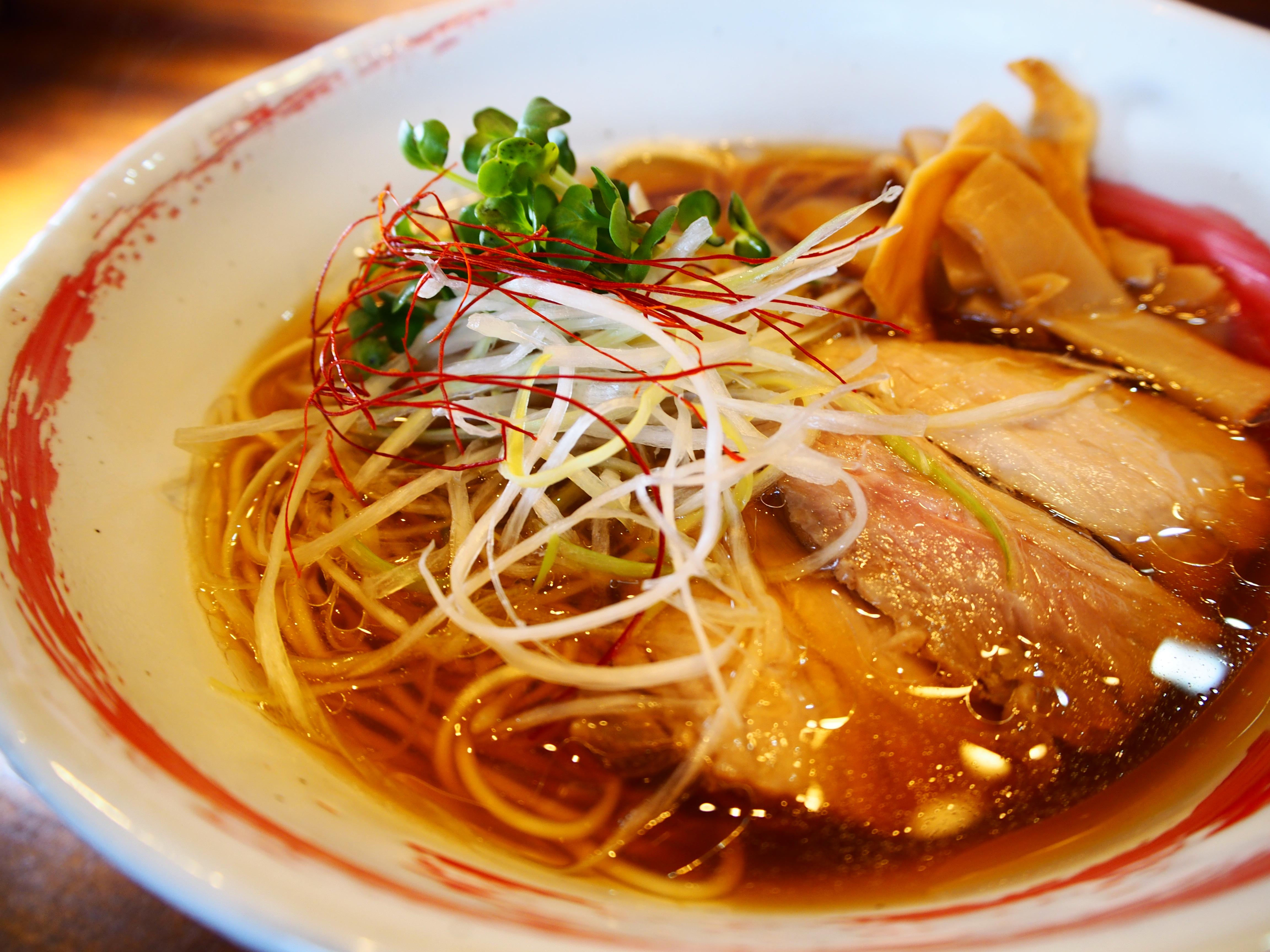 のだ麺醤油豚清湯